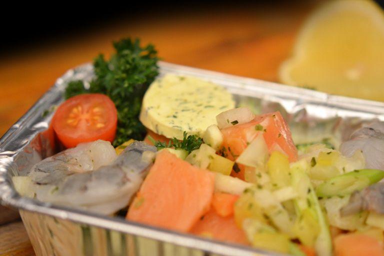 Recept papillotte met aardappelen, spicy groenten en
