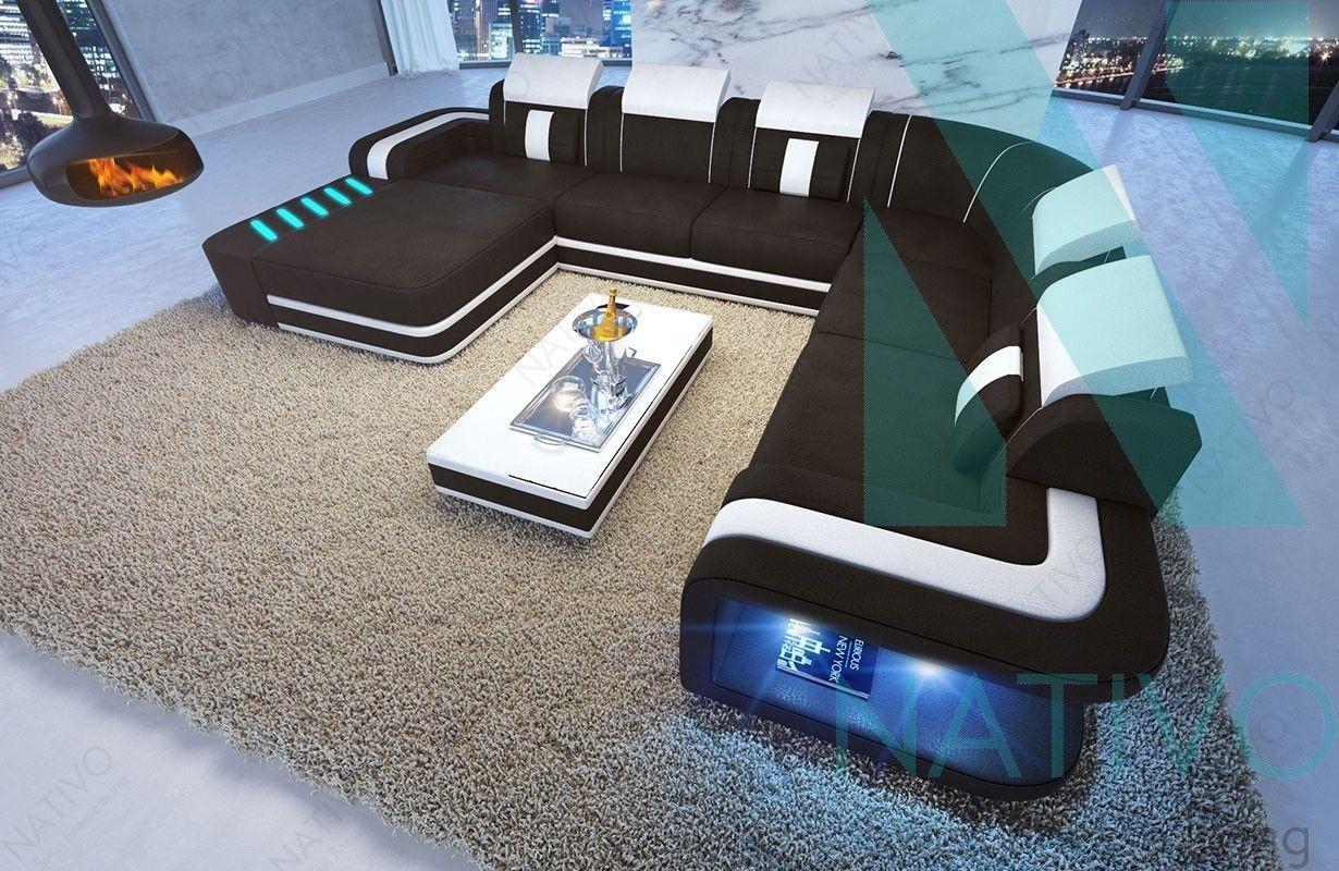 Canape Design Space Xxl Avec Eclairage Led Canape Design Eclairage Led Mobilier Design