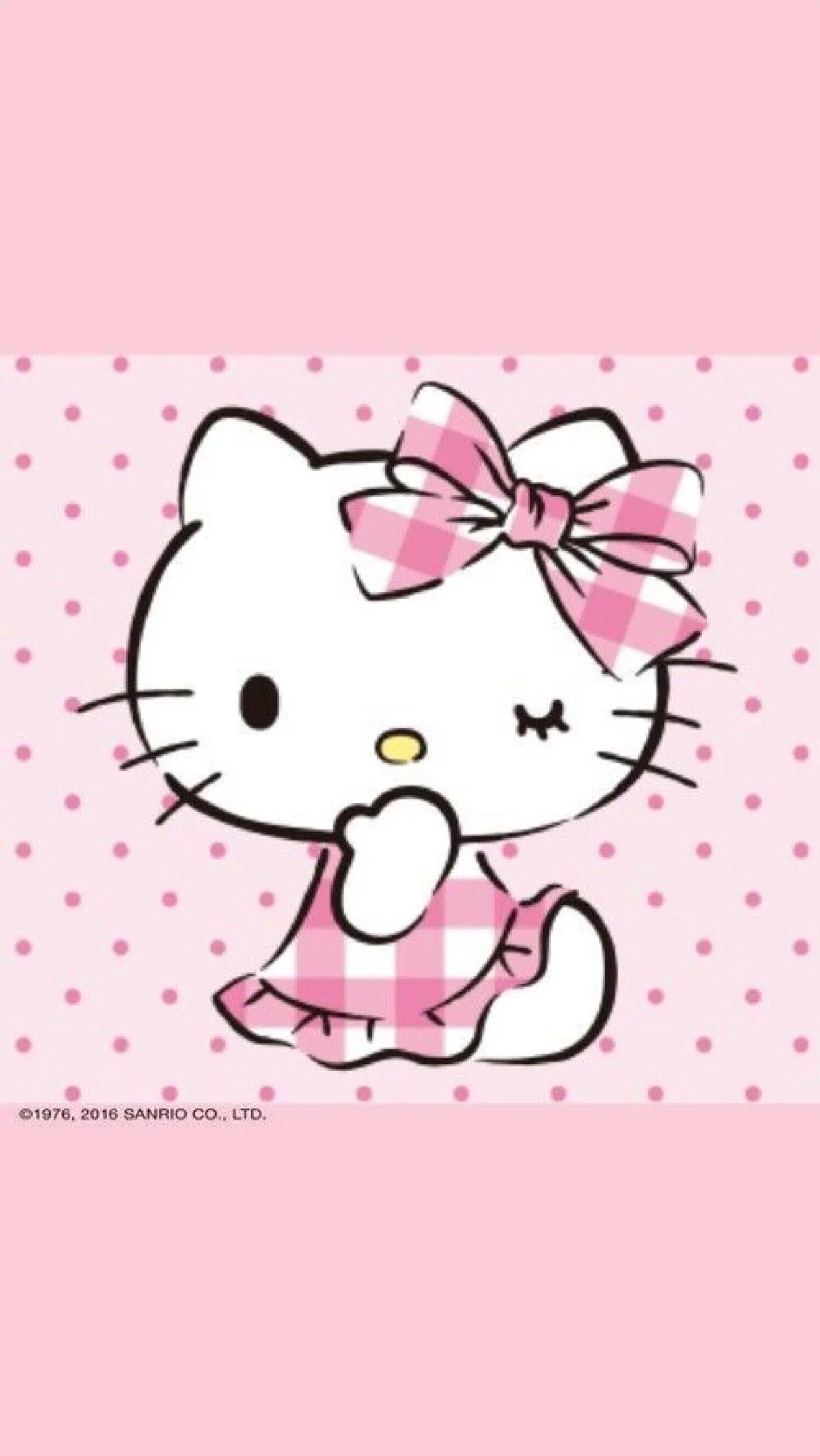 Pin By Pankeaw On Wallpaper Hello Kitty - Pinterest -