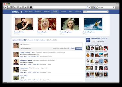 40 Creative Facebook Timeline Designs   Timeline design, Facebook ...