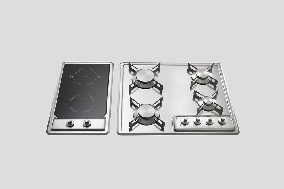 BUILT-IN STAINLESS STEEL HOB | Stainless steel and Steel