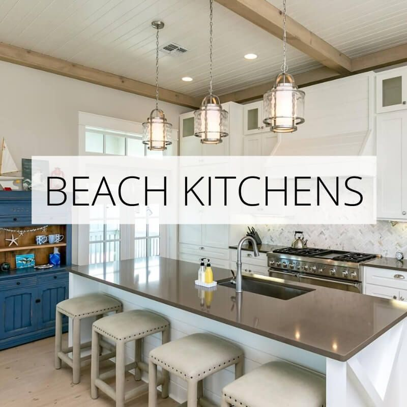 Beach Themed Bedrooms Ideas Beach House Tour Coastal Kitchen