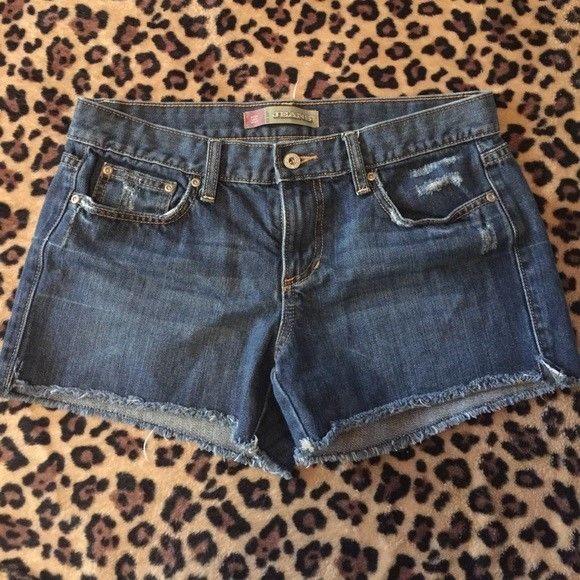 9da897fa5b OLD NAVY Denim Jean Shorts Womens Size 8 Regular Dark Blue Wash Cutoff  Frayed #fashion #clothing #shoes #accessories #womensclothing #shorts (ebay  link)