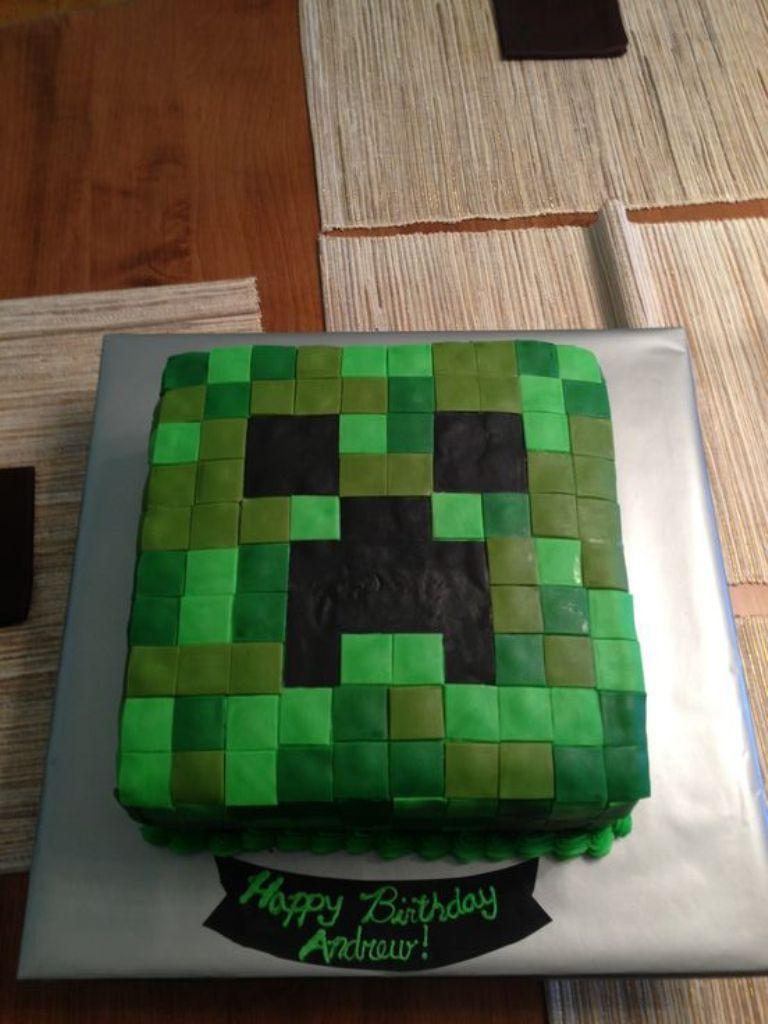Minecraft Birthday Cake Walmart Amazing