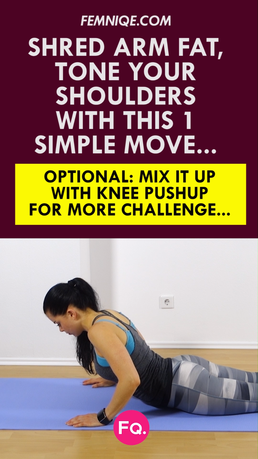 Arm Flab Workout: 6 Minute Workout To Get Rid Of Flabby Arms! #armexercises