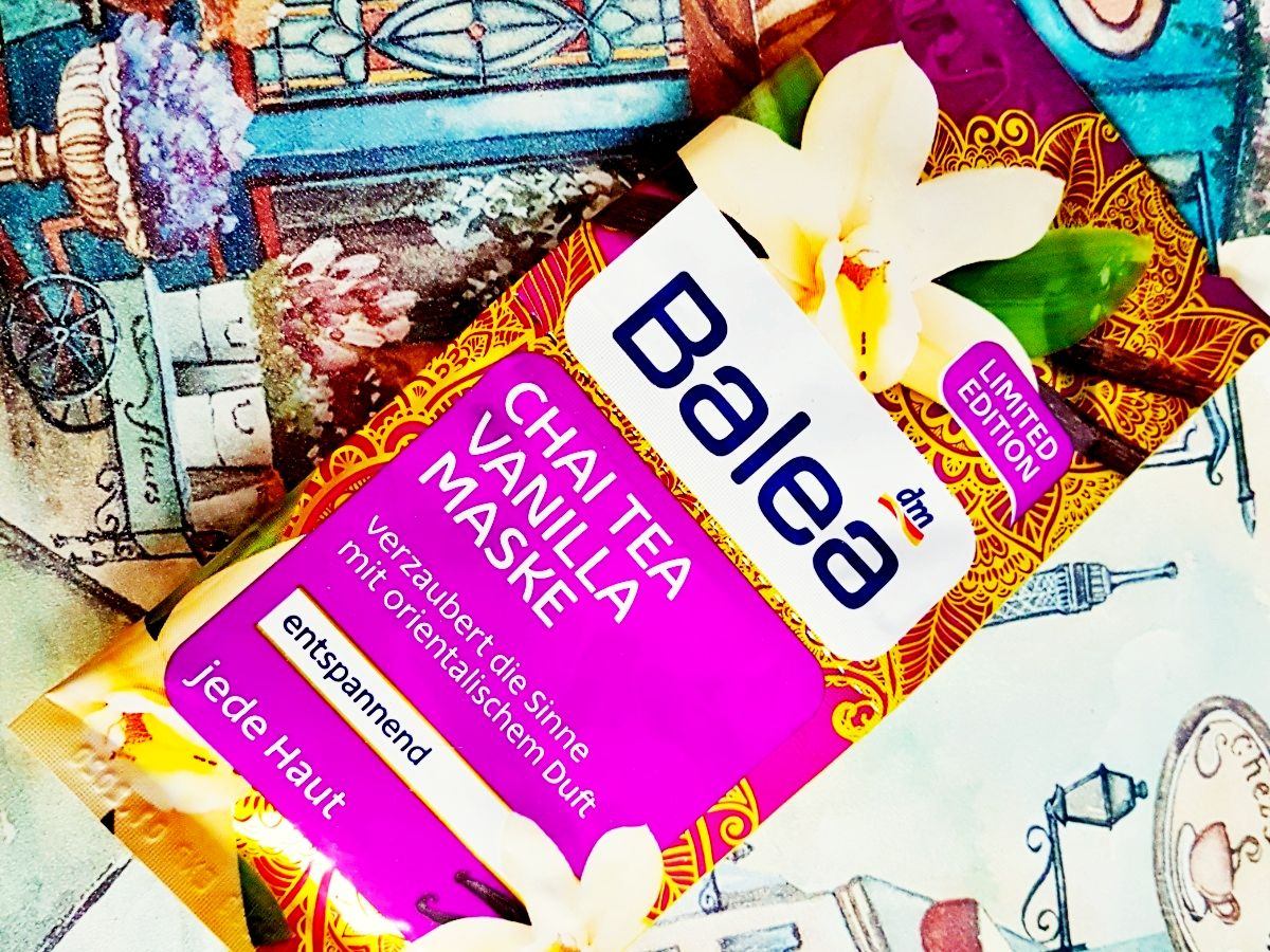 Balea Chai Tea Vanilla Maske Erfahrung