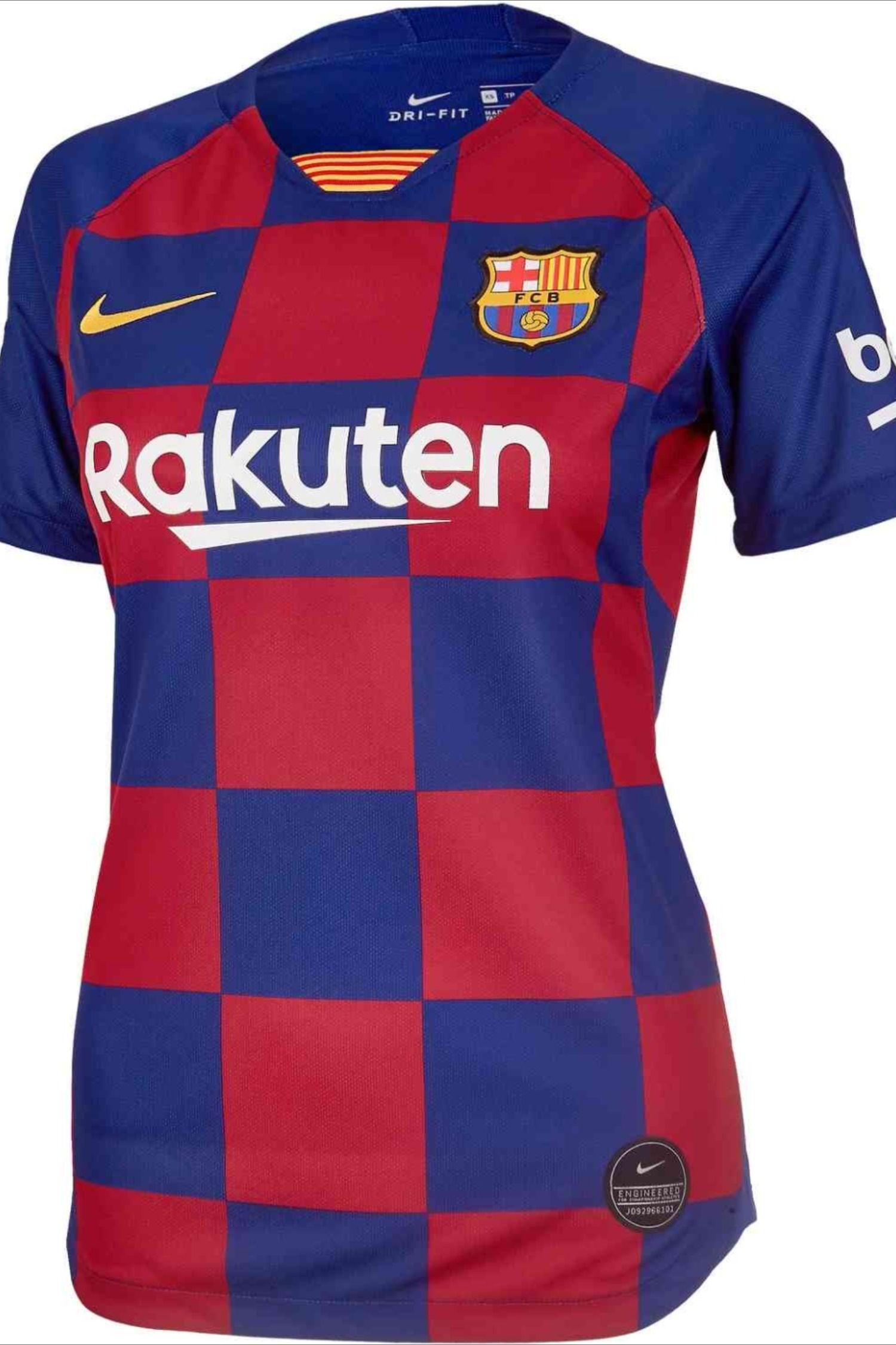 2019 20 Womens Nike Barcelona Home Jersey Soccerpro In 2020 Womens Jersey Shirt Barcelona Shirt Nike Women
