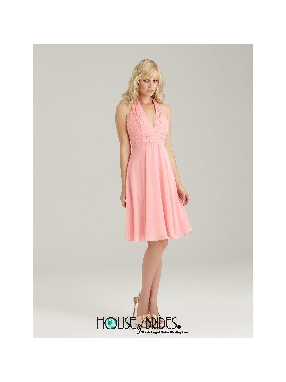 Allure Bridesmaids - Bridesmaid Dress Style No. 1321 #briesmaid dress #short #knee length #sleeveless #pretty