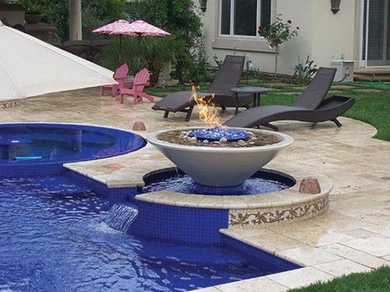 Backyard Luxury Patio Pool Design Ideas