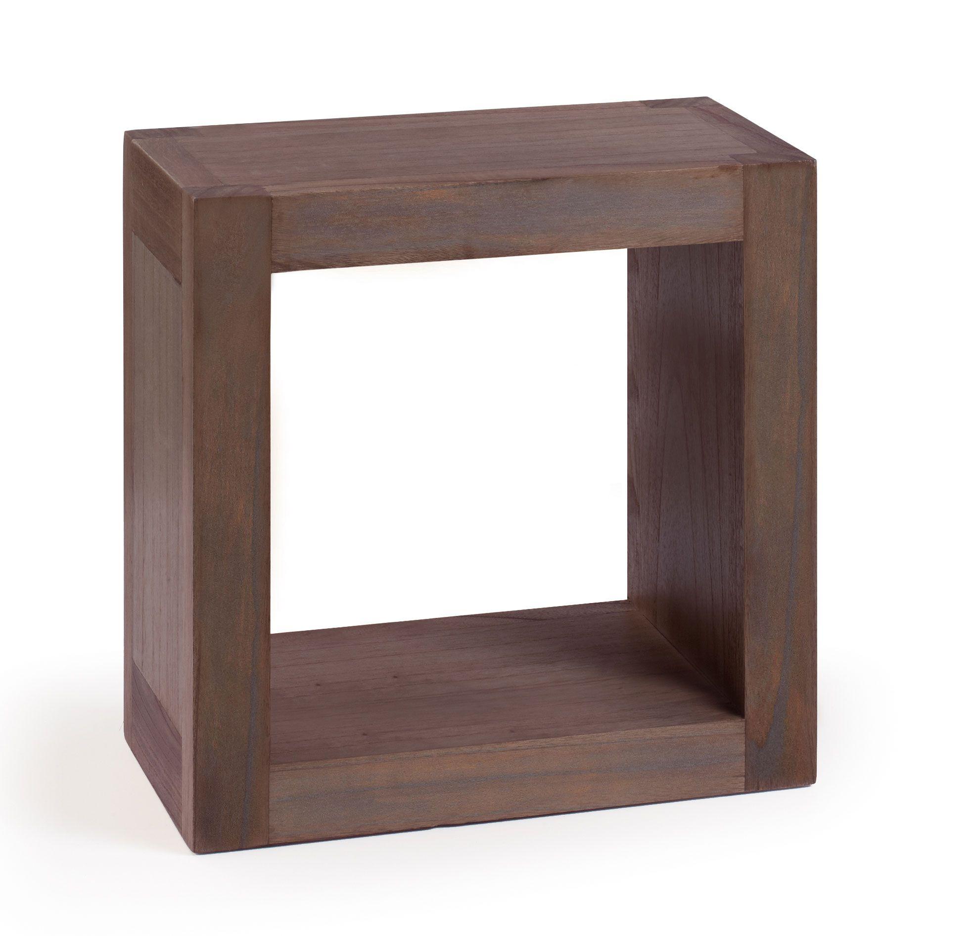 Cubo Para Colgar A Pared En Color Wenge Muebles Originales De  # Muebles Wengue Color Paredes