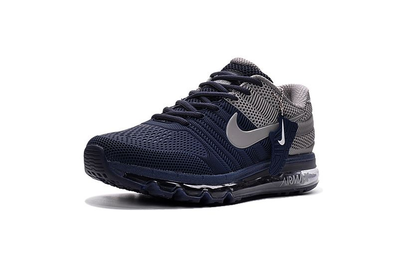 huge discount b0532 76fb2 Nike Air Max 2017 Blue Grey Men Shoes