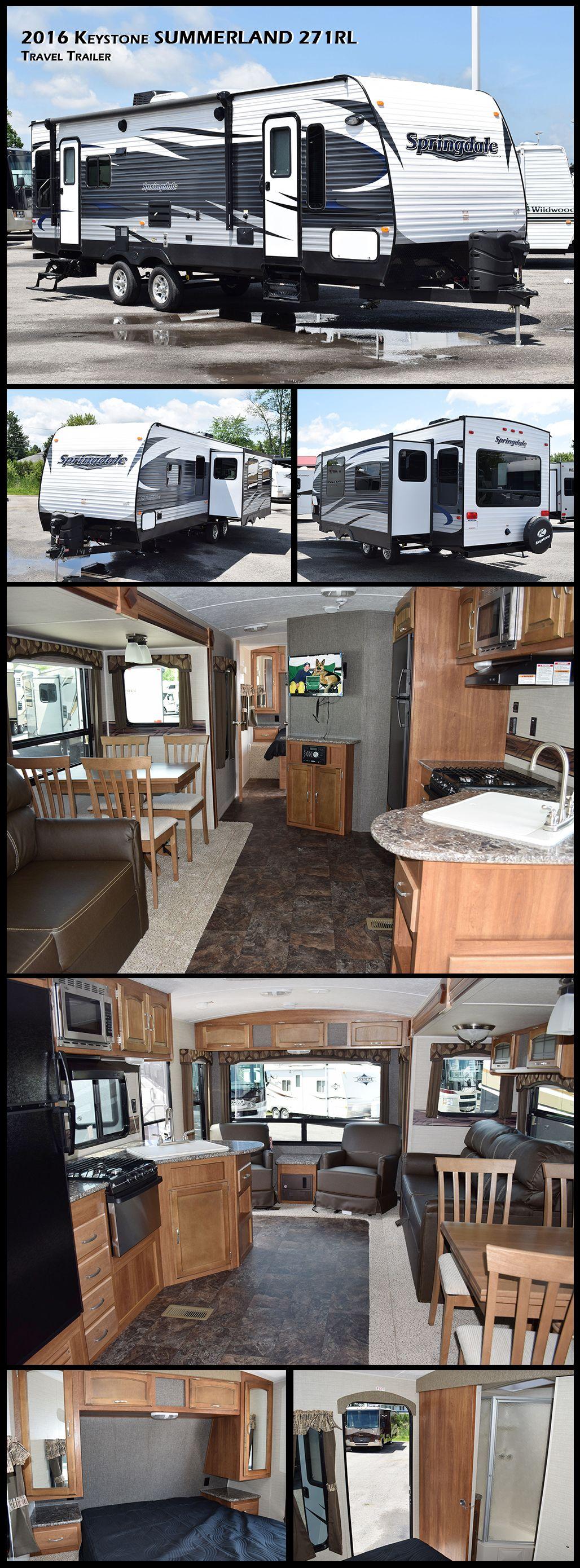 2016 Keystone RV Springdale T18405 Travel camper