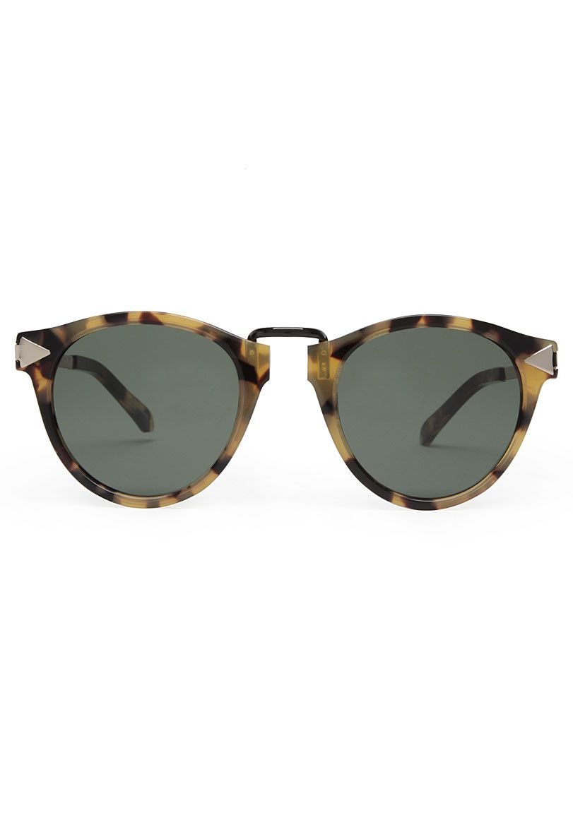 Karen Walker Eyewear / Helter Skelter Sunglasses #basics