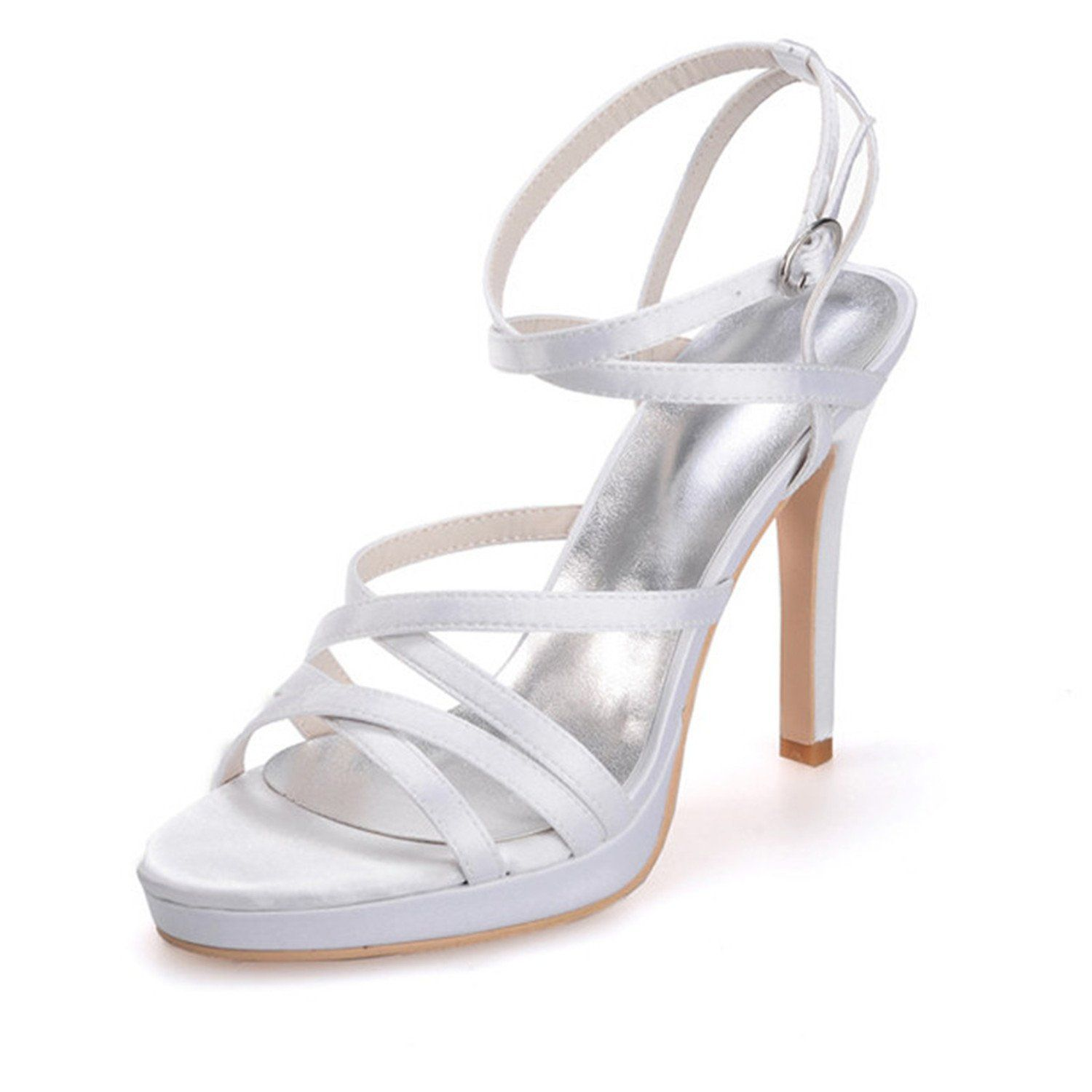 Clearbridal Women's Ivory Evening Party Wedding Shoes ZXF5915-03IV 6.5 B(M) US