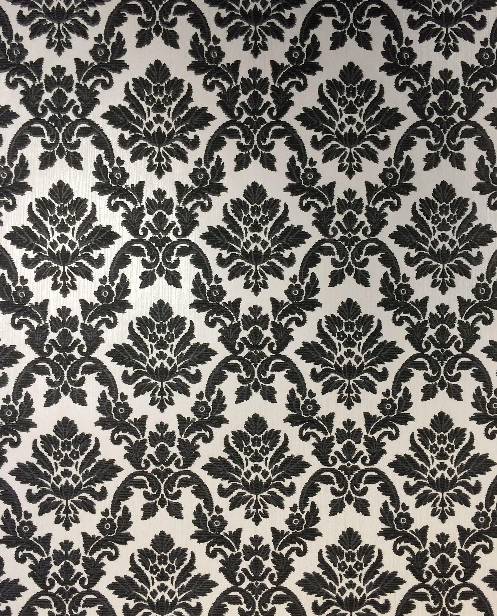 Damask wallpaper hallway ideas  Renaissance u x