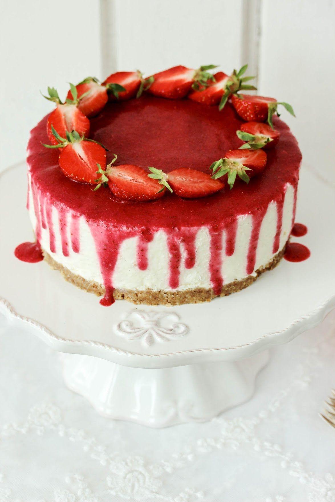 Rezept Himbeer Buttercreme Torte mit Zartbitterganache Drip
