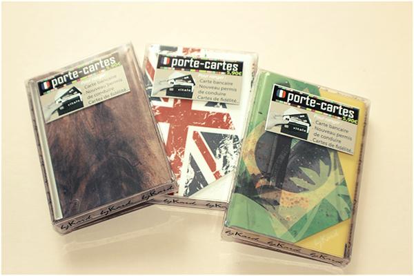 Soyez Mode et Light avec les Porte-cartes bykard :)