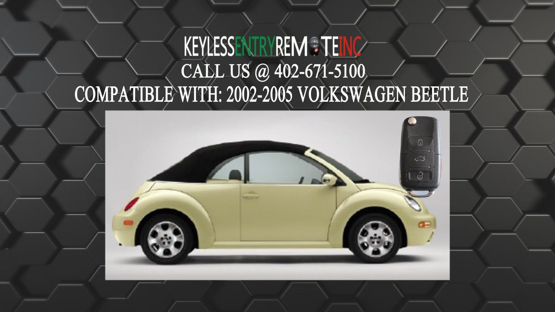 How To Replace Volkswagen Beetle Key Fob Battery 2002 2003