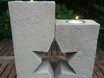 Beton Giessform STERN KERZENHALTER 2-teilige Form | Concrete, Cement ...