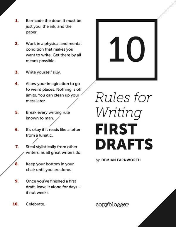 6 Of The Best Pieces of Advice From Successful Writers Writing ideas - best of letter format in american english