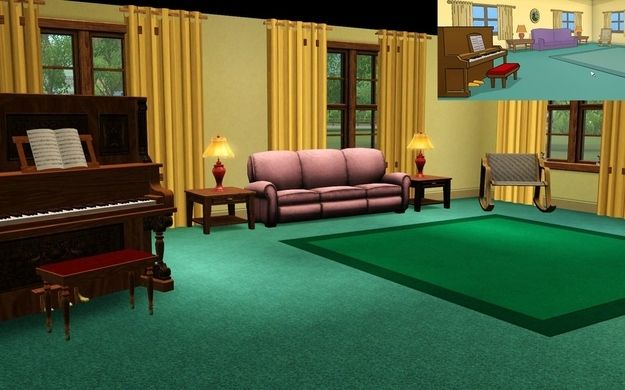 Reddit User Recreates The House From Family Guy In Sims 3 House Layouts Dream House Interior Dream House Decor