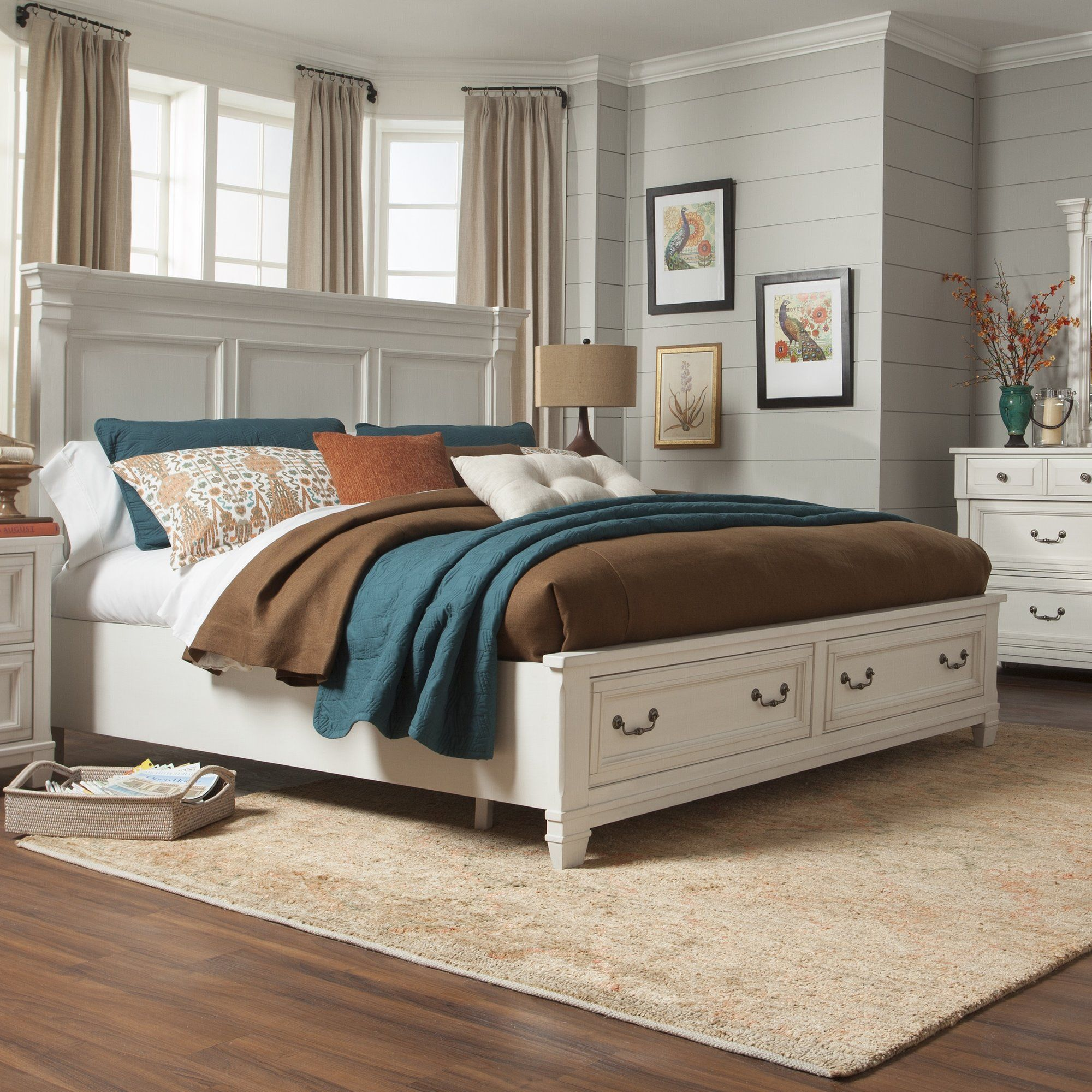 barker ridge storage panel bed bedrooms pinterest storage