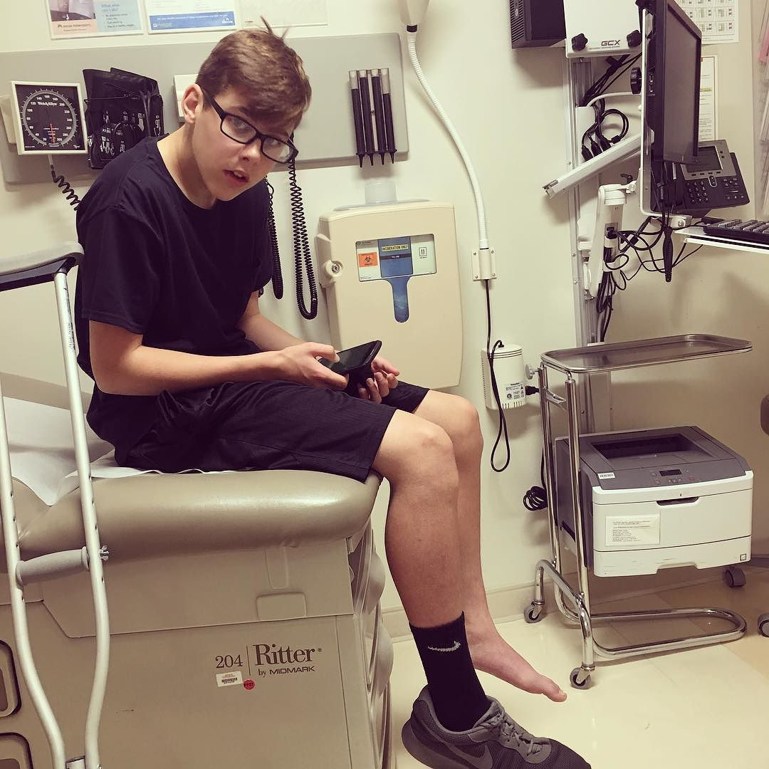 Ball is life he says waiting to see if his ankle is