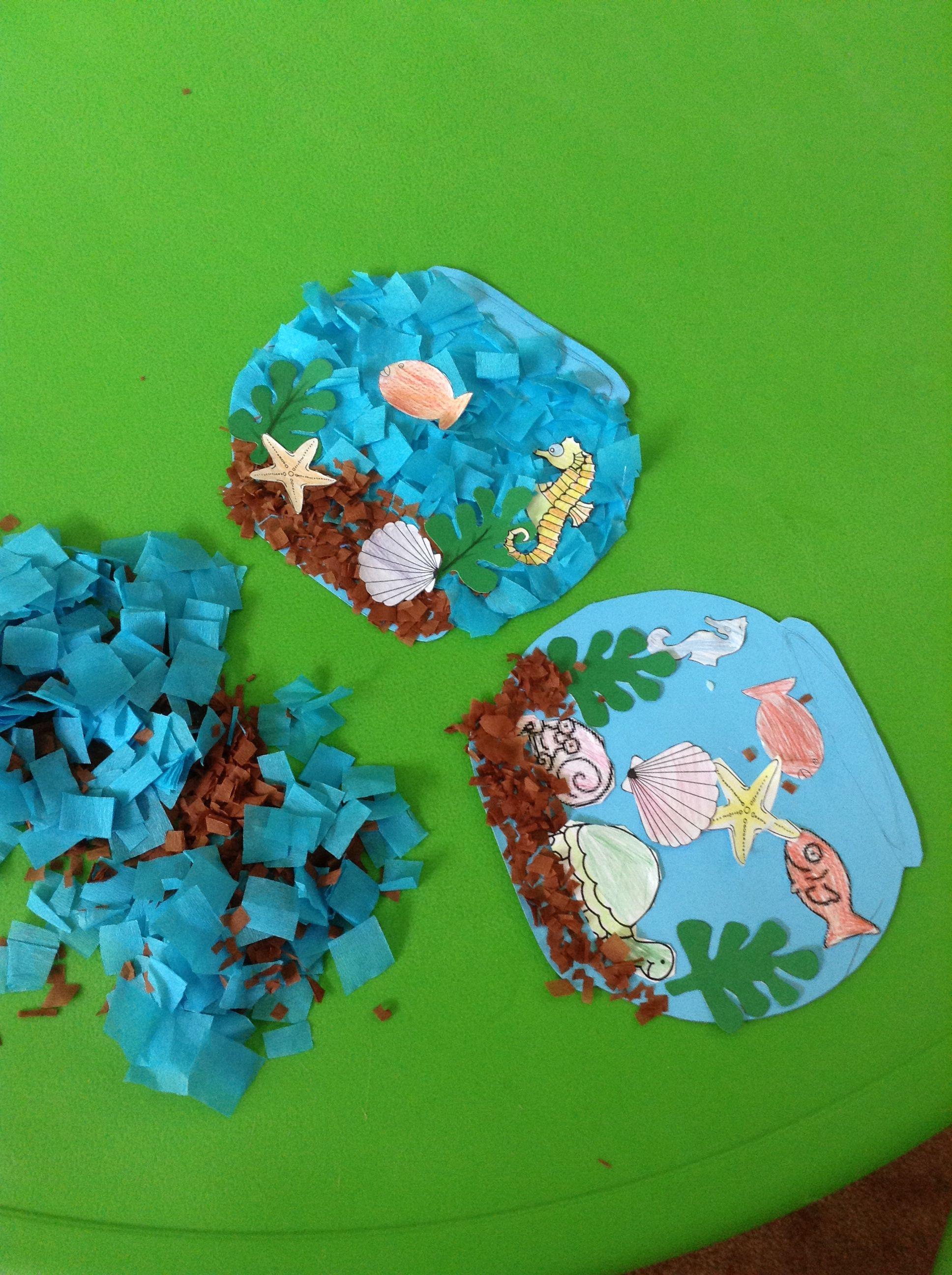 F.... Fish Bowl | Preschool crafts, Crafts, Sugar cookie