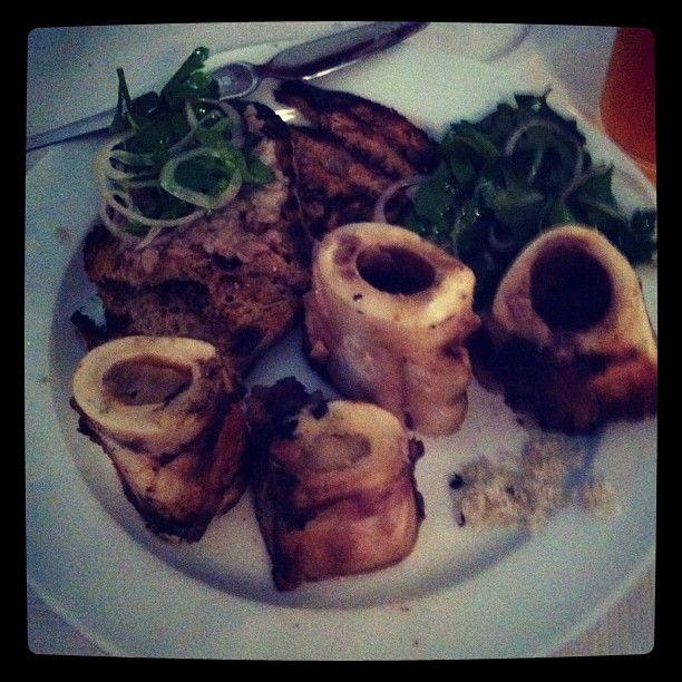 Bone marrow and parsley salad from St. John, London