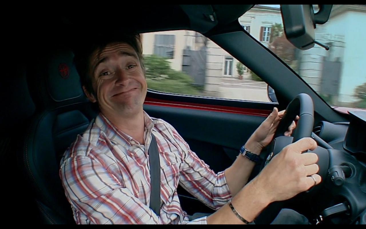Richard imitating Jeremy's smug face- Series 21, Episode 2