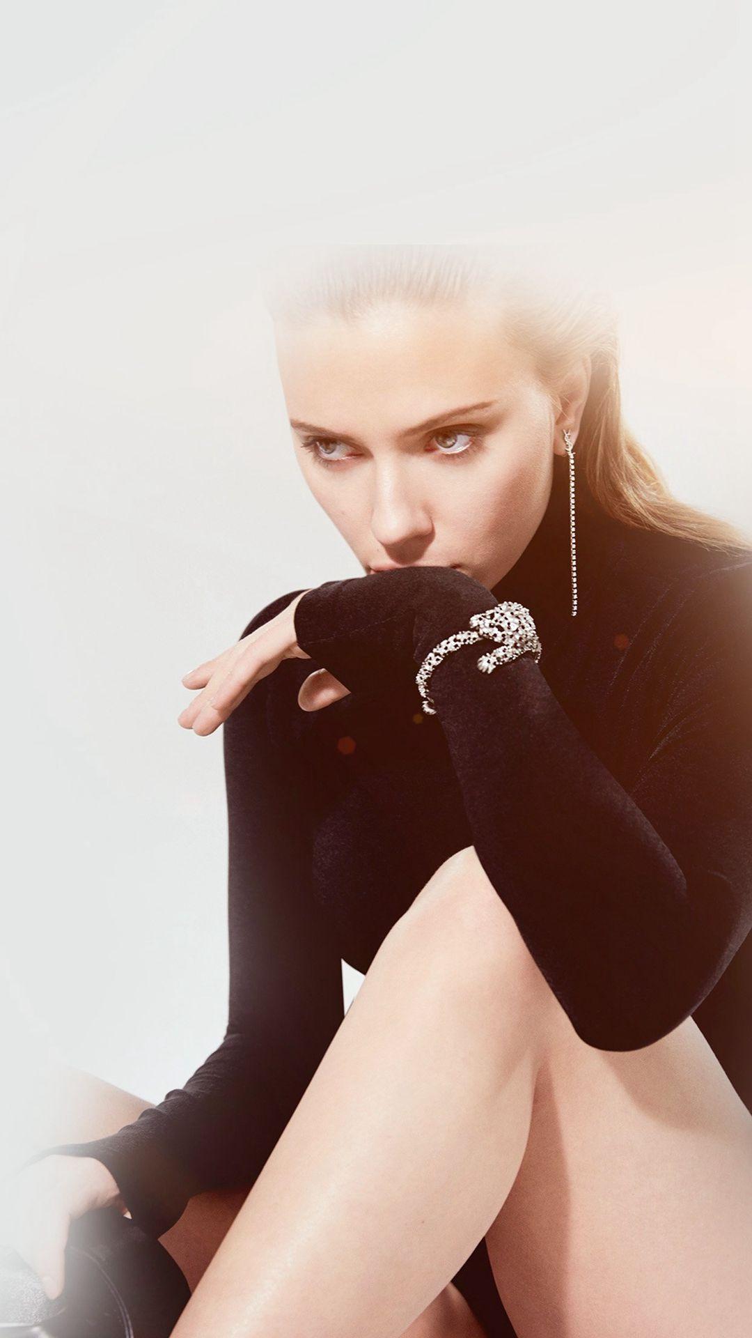 Model Celebrity Scarlett Johansson Actress IPhone 6 Wallpaper