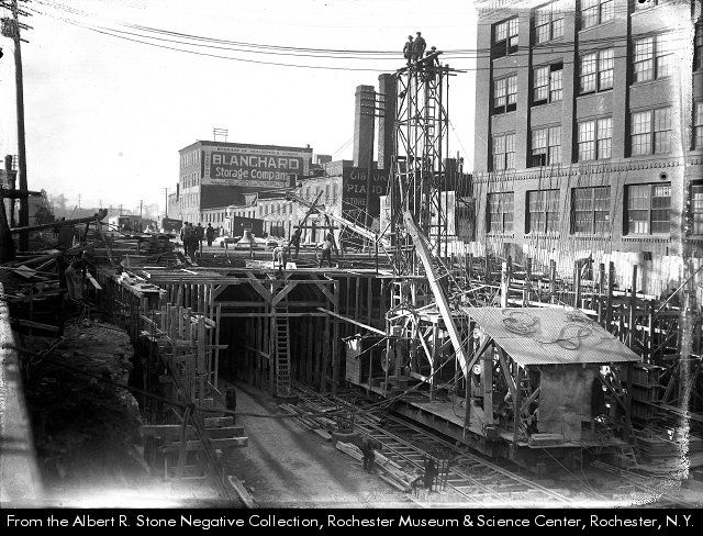 Building Of The Rochester Ny Subway Aka Rochester Industrial
