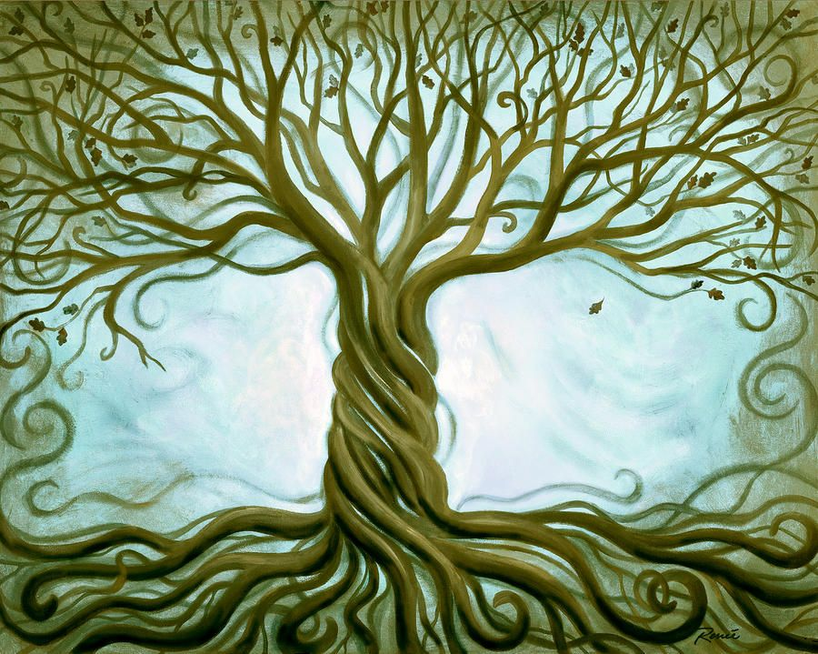 Tree of life painting | Home Decorations | Pinterest | Paintings ...