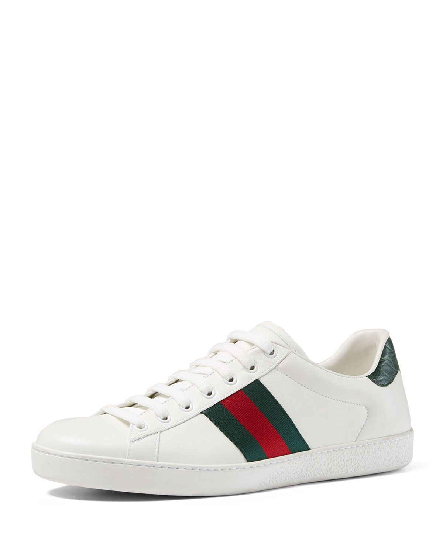 Gucci men shoes, Gucci leather