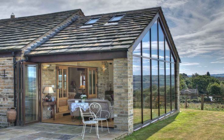 crittall extension tiled roof Google Search Barn house