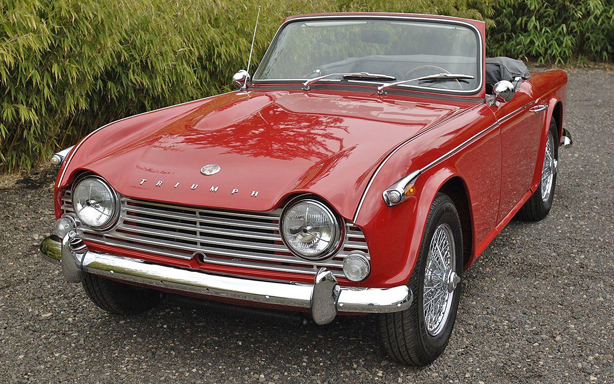 Restored 1966 Triumph TR4A IRS | Triumph TR4a | Classic Cars