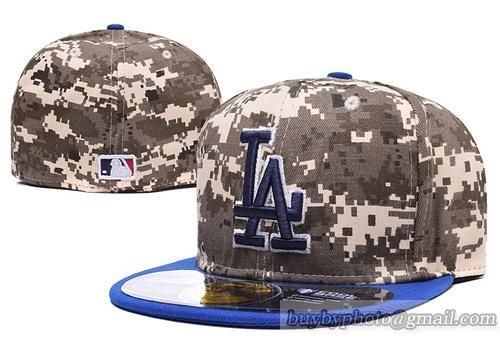 MLB Los Angeles Dodgers Fitted Caps Hats MLB Baseball Caps Camo