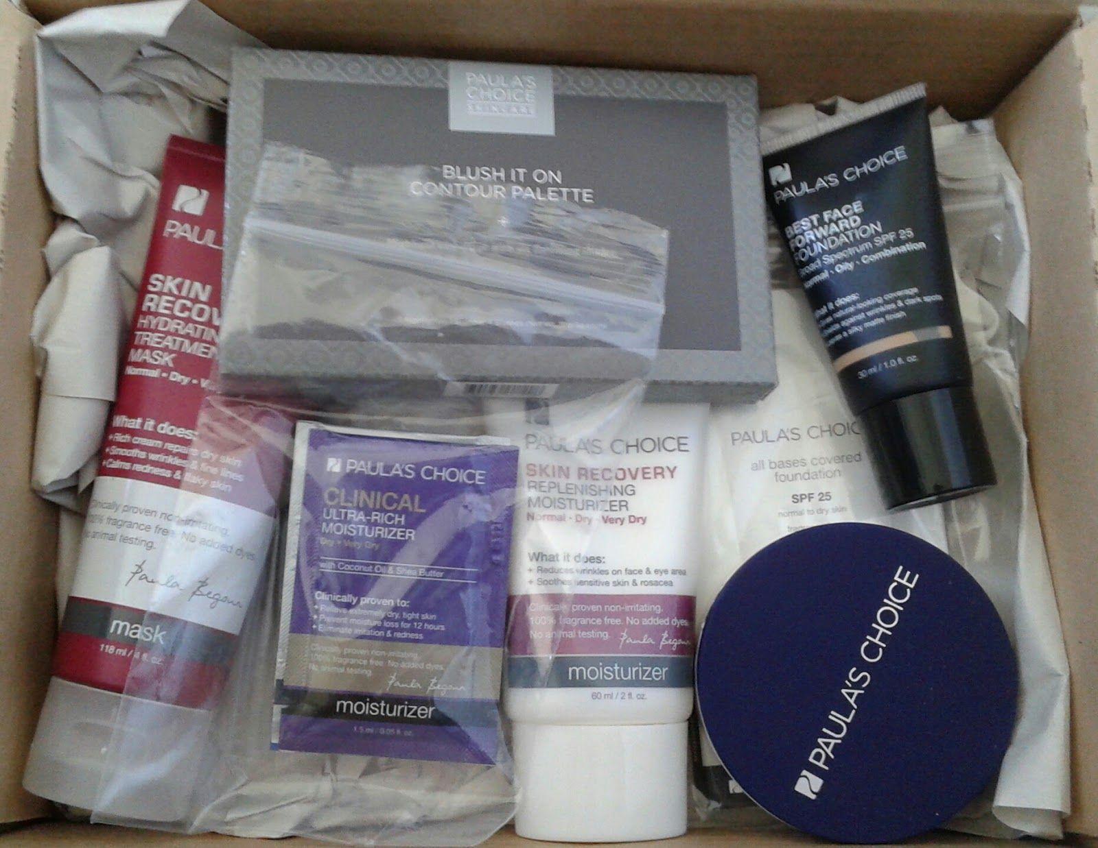 Paula's Choice Beauty Haul Skincare & Makeup!