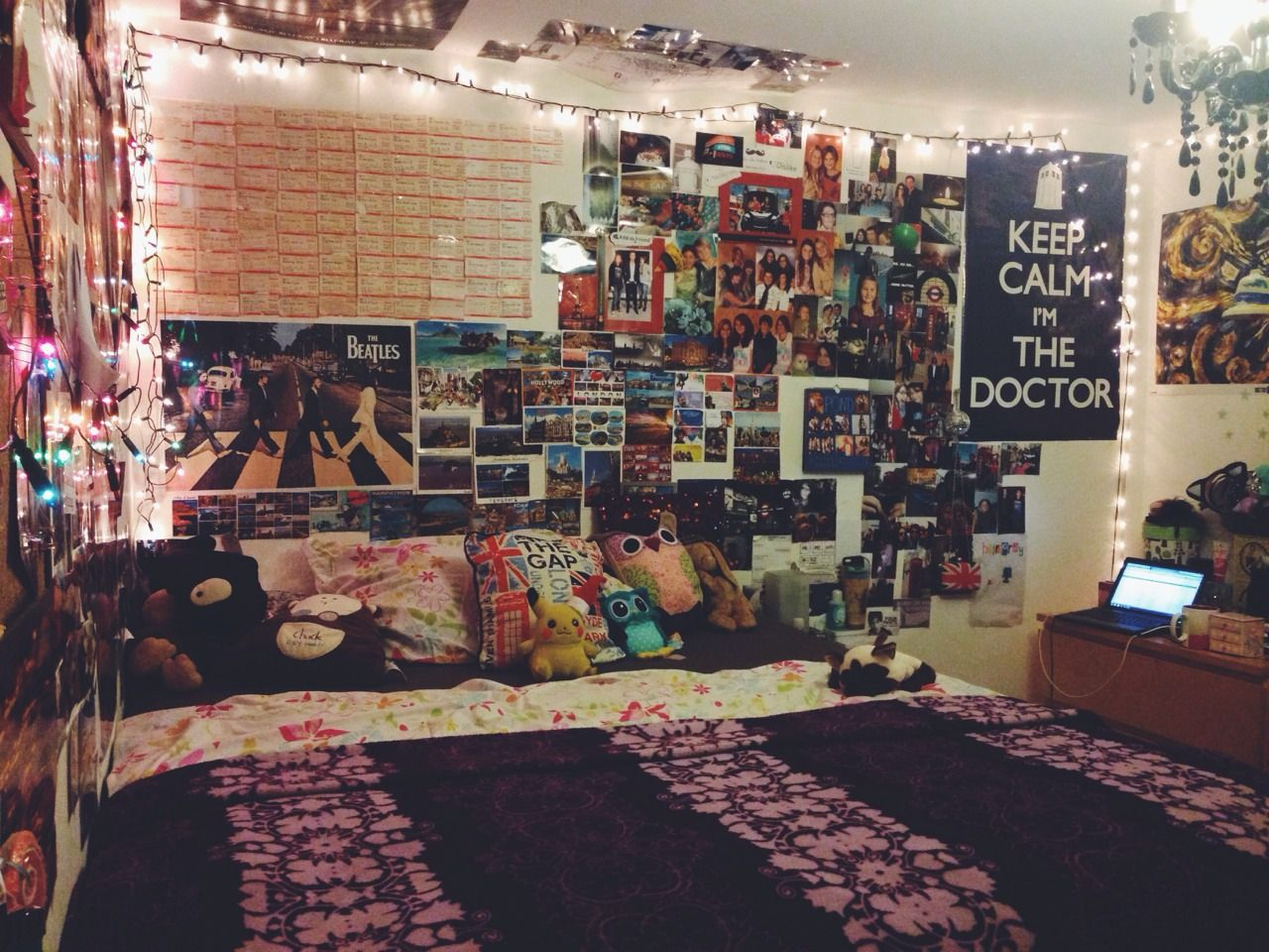 Rooms: Here's An Idea, You Could Print Out A Lot Of Pictures You