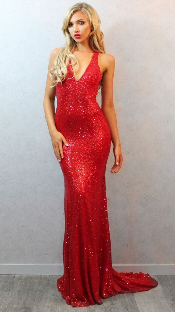 4654cb17 Backless Prom Dresses,Red Prom Gowns, 2017 Mermaid Prom Dresses,V-neck  Sequin Dance Prom Dresses For Teens,Open Back Evening Dresses,Long Evening  Dress ...