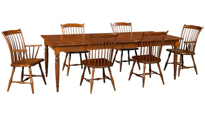 95eb017a8a41 Caperton - Fairview - 7 Piece Dining Set - Buy Dining Sets at Jordan's  Furniture in MA, NH and RI