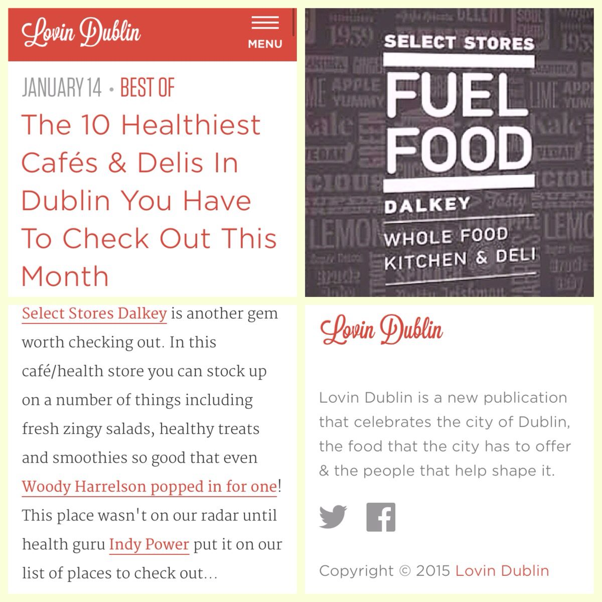 Select Stores Dalkey | places to eat | Pinterest