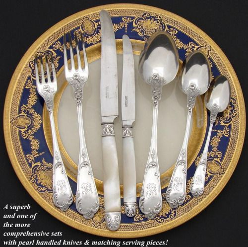 A Bit About French Sterling Flatware And The Heritage With Capital H Traditions Traditional Wedding Giftstraditional