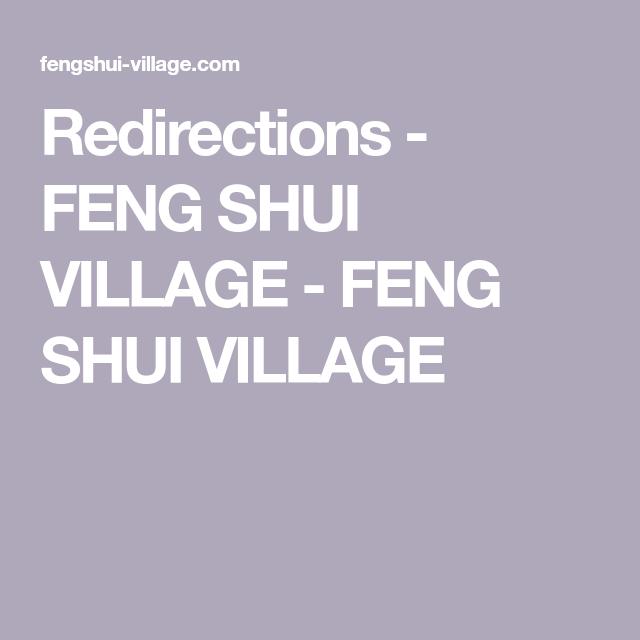 Feng Shui Village redirections - feng shui village - feng shui village | kua number