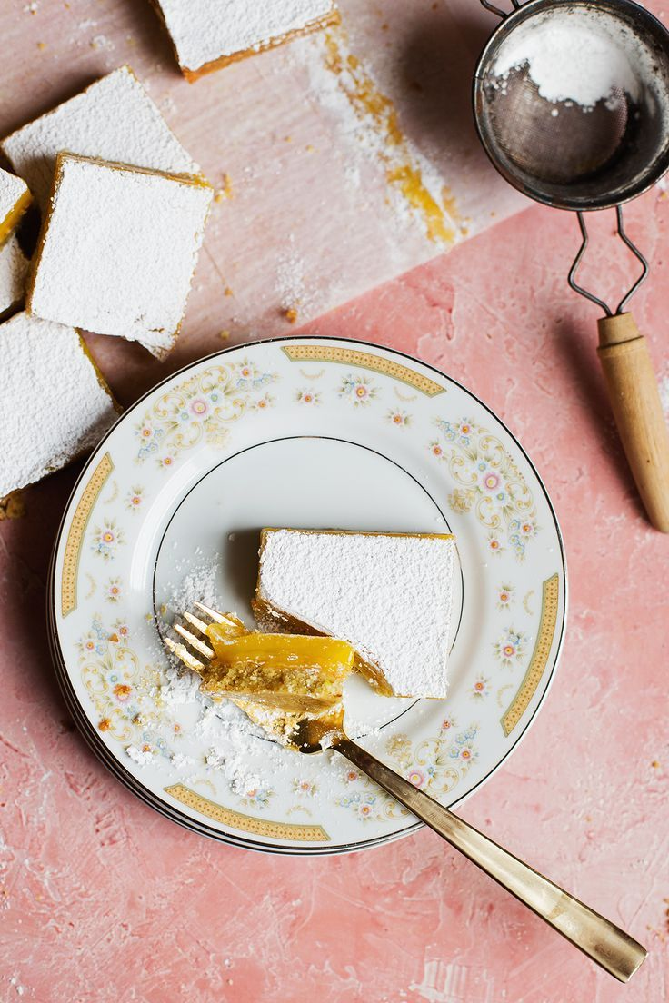 Pistachio Meyer Lemon Bars | Recipe | Pistachios, Lemon and Bar