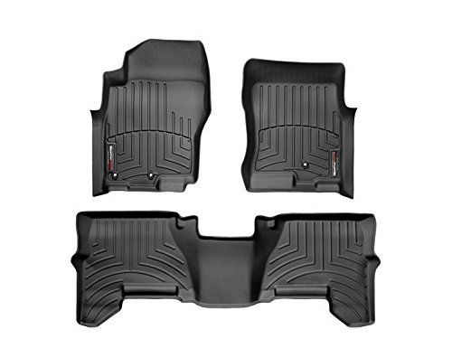 20052012 Nissan Pathfinder Black Weathertech Floor Liner Full Set1st And 2nd Row Two Drivers Side Retention Posts C Nissan Pathfinder Nissan Xterra Mini Van