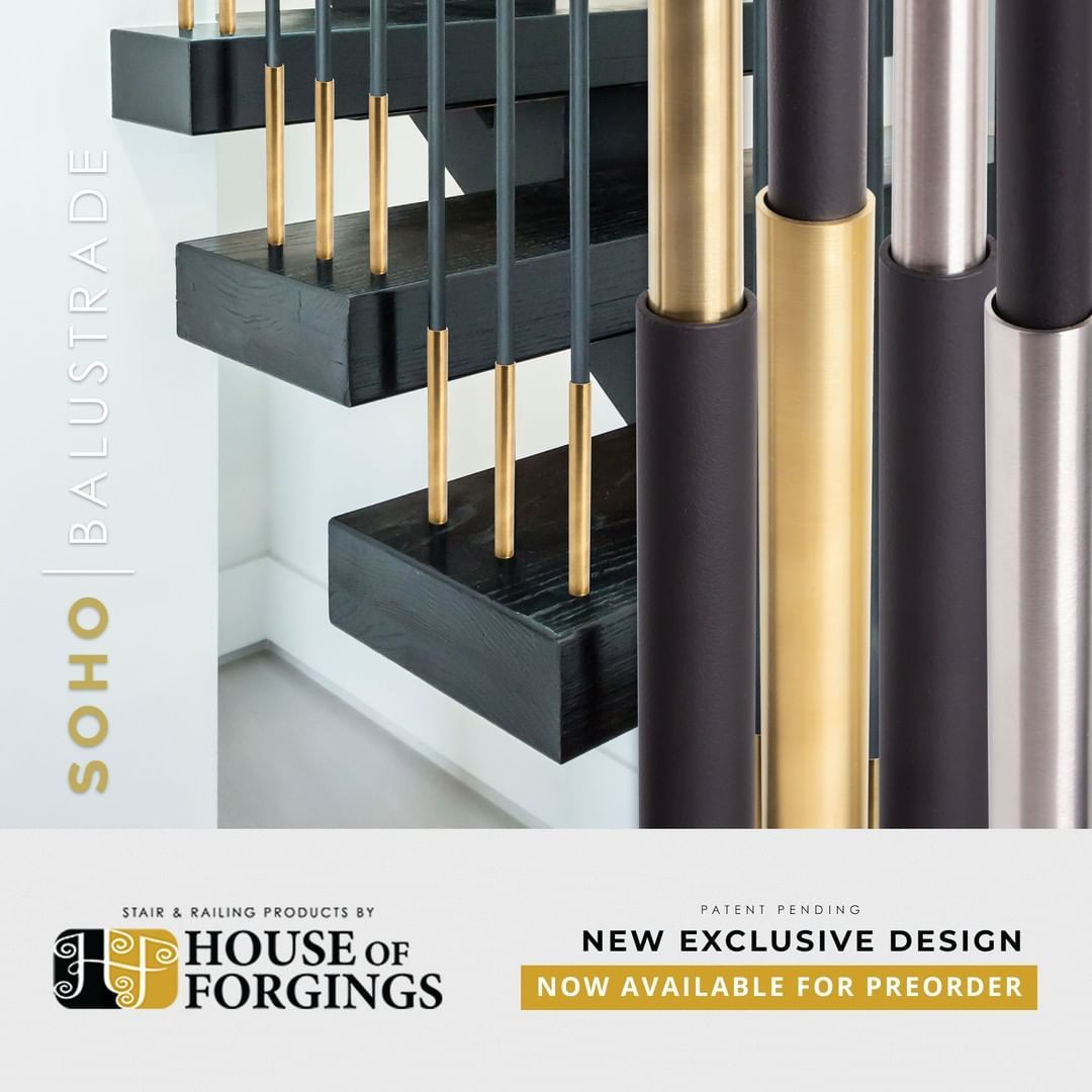 House Of Forgings On Instagram Unsurpassed Style Uncompromising Quality Soho Balustrade Is A Flawless Finish For Your Staircase Reserv House Forging Soho