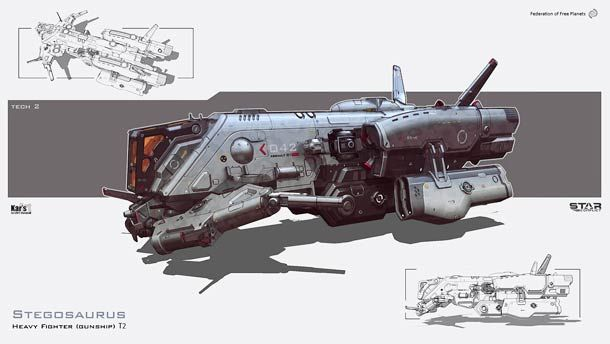 Maelstrom – 25 awesome spaceship design concepts by ...