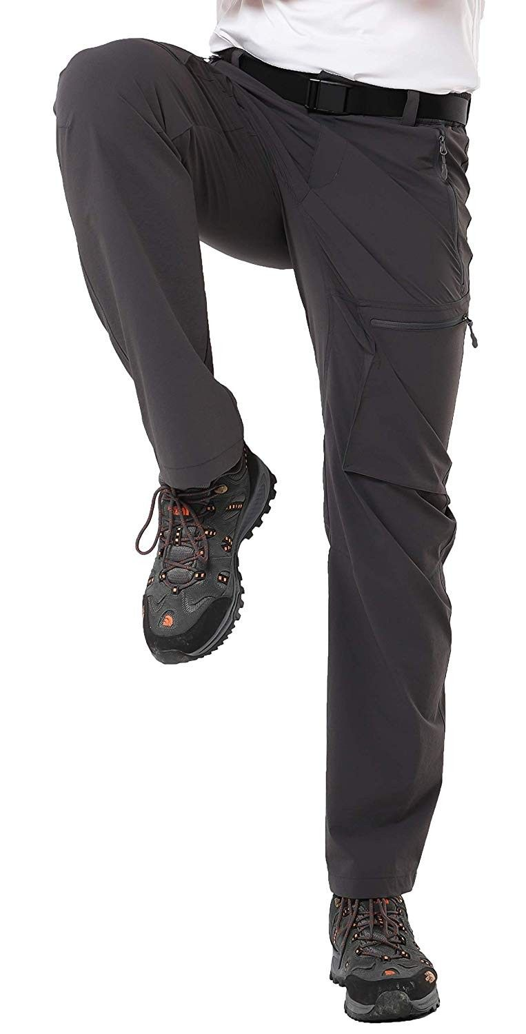 Water Resistant /& Stretch MIER Womens Outdoor Quick Dry Hiking Pants Lightweight Cargo Pants with Elastic Waist