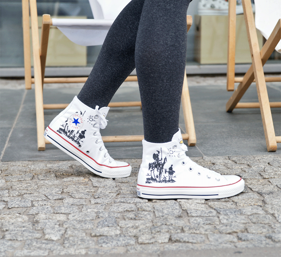 DESIGN YOUR OWN PRINT ON SNEAKERS